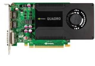 VGA Quadro K2000