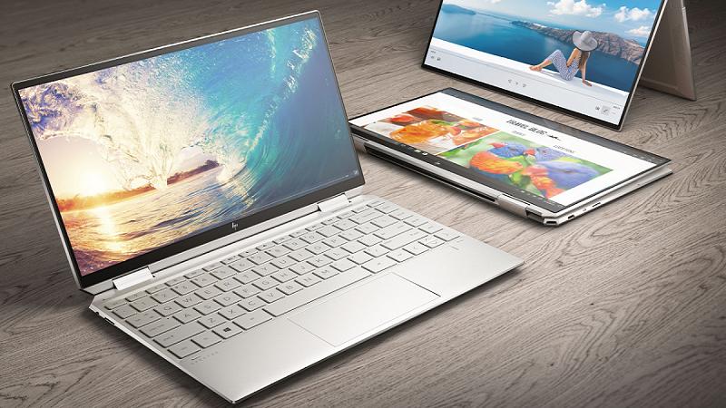 HP Spectre x360 14 có thiết kế sang trọng, với thời lượng pin dài