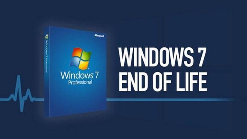 Windows 7 đã chính thức bị khai tử từ ngày 14/01/2020
